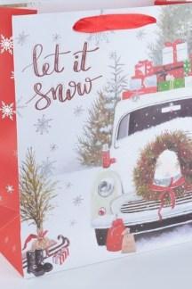 """Ламинированный пакет """"Let it snow"""""""