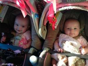 Adelynn & Sarah Road Trip