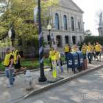 volunteers head to help clean up, refresh and repaint parts of the city!