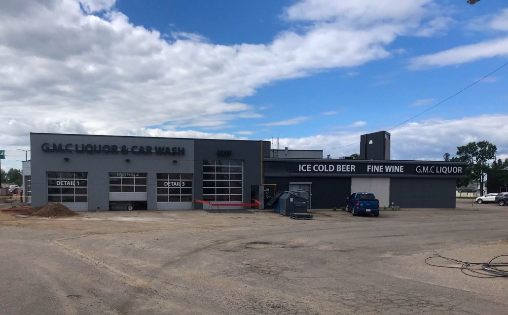 G.M.C. Liquor and carwash in Cold Lake