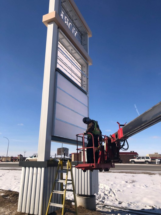 Sign company in Alberta Sign Solutions