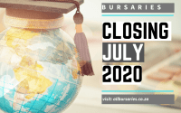 Bursaries Closing in July 2020