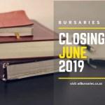 Bursaries Closing in June 2019