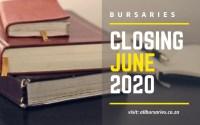 Bursaries Closing in June 2020