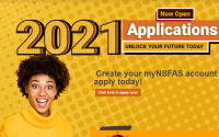 NSFAS Online Application Open for 2021
