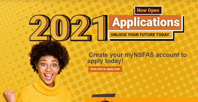 NSFAS Online Application Open now!