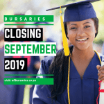 Bursaries Closing in September 2019