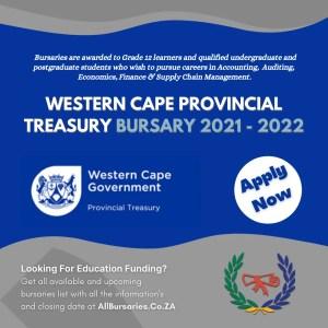 Western Cape Provincial Treasury Bursary