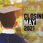 Bursaries Closing in May 2021