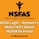 NSFAS Login – Answers to FAQ's About MyNSFSA Portal