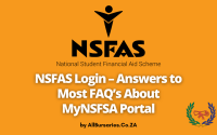NSFAS Login – Answers to FAQ's About MyNSFSA Portal
