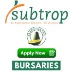 Subtrop SAAGA Bursary