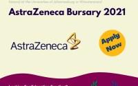 The AstraZeneca Bursary 2021