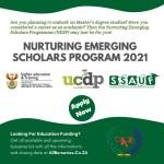 The Nurturing Emerging Scholars Program