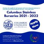 Columbus Stainless Bursaries