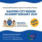 Gauteng City Region Academy Bursary