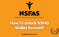 How To unlock NSFAS Wallet Account