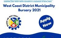 West Coast District Municipality Bursary