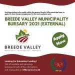 Breede Valley Municipality External Bursary