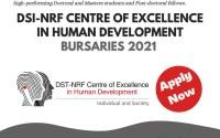 DSI-NRF Centre of Excellence in Human Development Bursaries