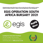 Egis Operation South Africa Bursary