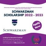 Schwarzman Scholarship 2022 - 2023