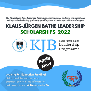 Klaus-Jurgen Bathe Leadership Scholarships Program