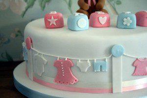 market basket baby shower cake