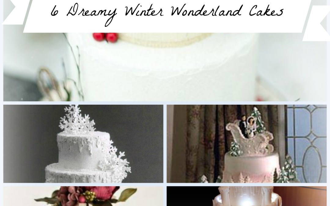 These 6 Super Dreamy Winter Wonderland Wedding Cakes Are Shaking Up The Baking World!