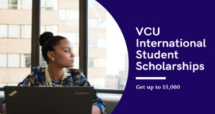 VCU International Student Scholarships in USA
