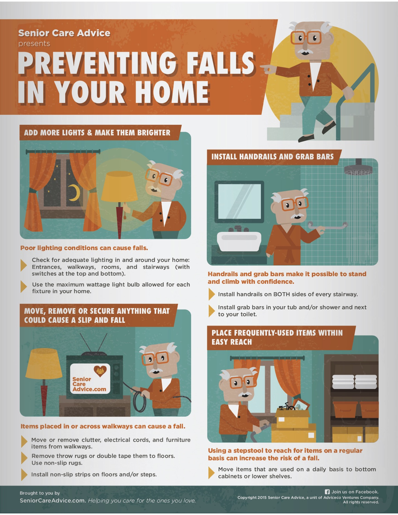 Preventing Falls In Your Home