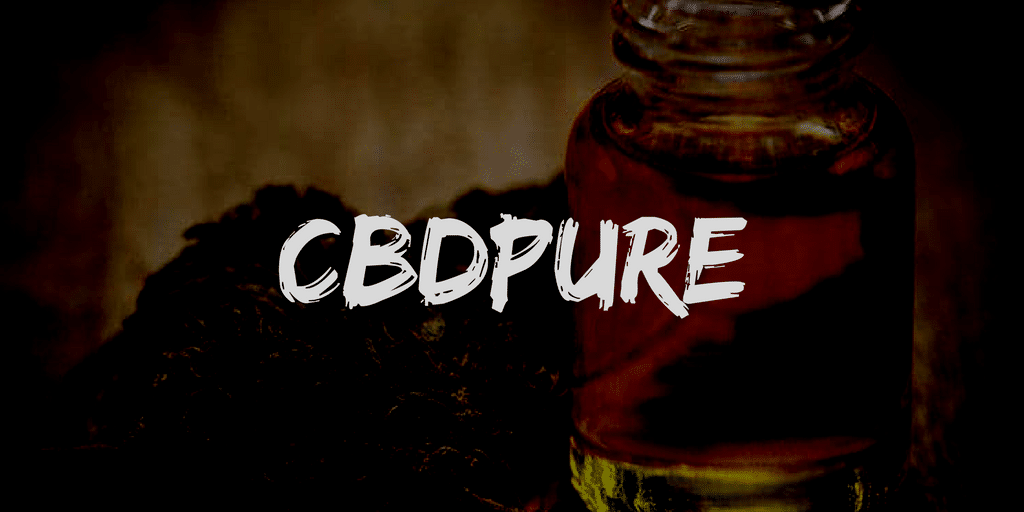 CBDPure review and coupon code