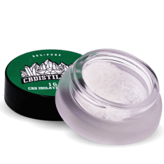 CBDistillery cbd isolated powder