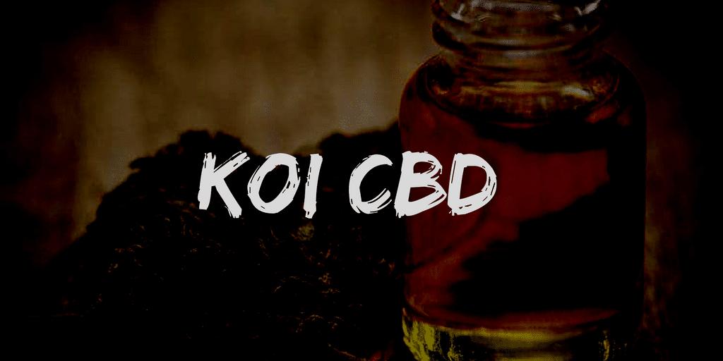 KOI CBD review and coupon code