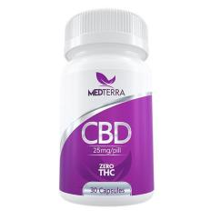 CBD pills with zero thc from medterra