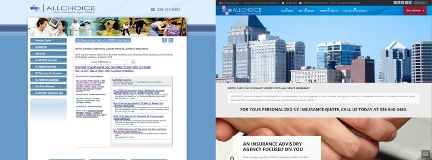 ALLCHOICE-Insurance-Website-Before-And-After-2013