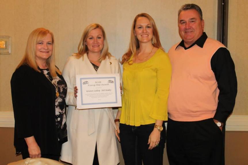 Kriston-Gallop-Receives-2013-NC-Realtor-Association-Rising-Star-Award