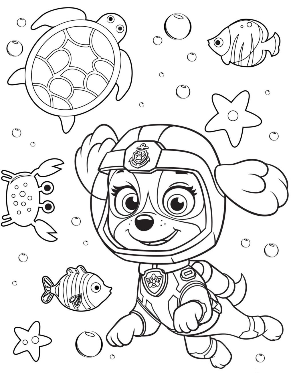 25 Best paw patrol images | Paw patrol, Paw patrol coloring pages ... | 1304x1024