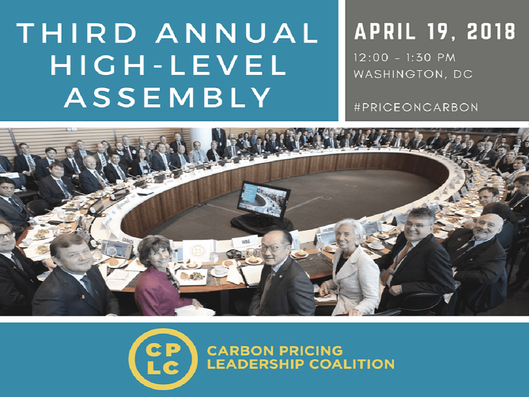 ALLCOT will attend the third annual CPLC High-Level Assembly (HLA) in Washington to advance climate action through carbon pricing