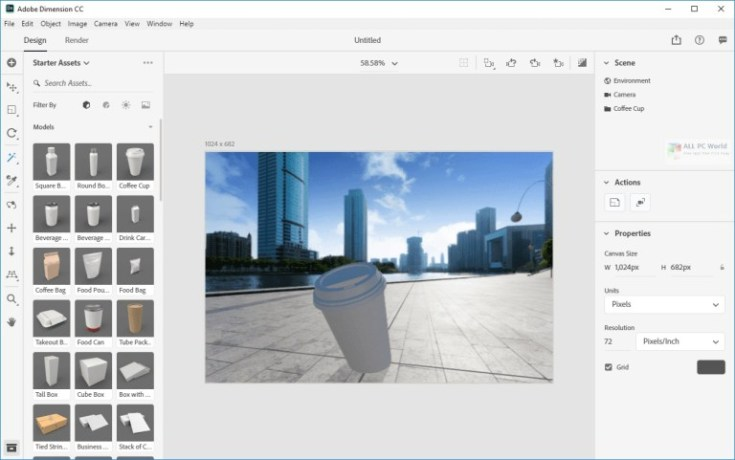 Adobe-Dimension-CC-2020-v3.4-Direct-Download-Link