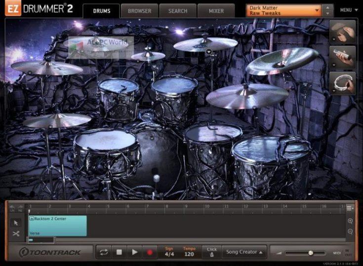 Toontrack-Dark-Matter-EZX-Setup-Free-Download