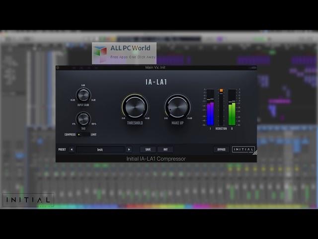 Initial-Audio-IA-LA1-Compressor-Setup-Free-Download