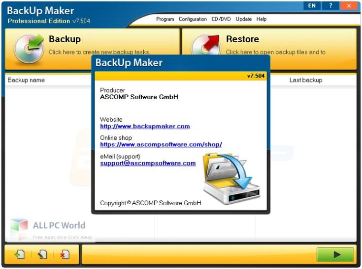 BackUp-Maker-Professional-8-Free-Download