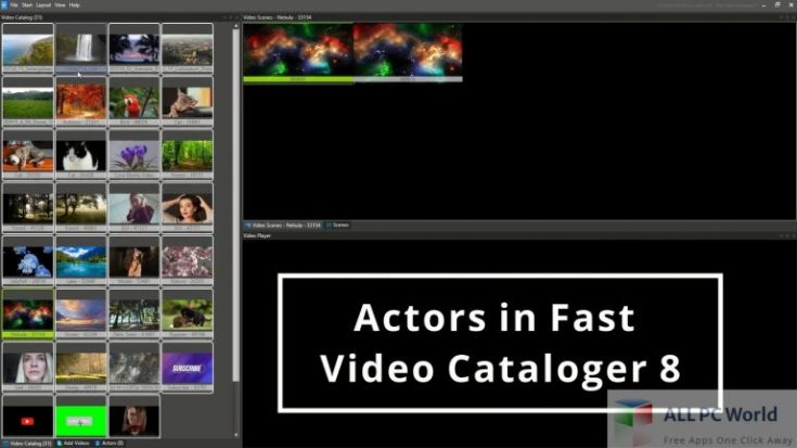 Download Fast Video Cataloger 8 latest full version offline complete setup for Windows. Fast Video Cataloger arranges all videos in one single place and provides an instant overview with thumbnail broadcasts.  Fast Video Cataloger 8 Overview Fast Video Cataloger is the instan