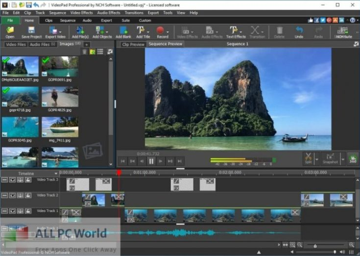 NCH-VideoPad-Pro-10-Free-Download