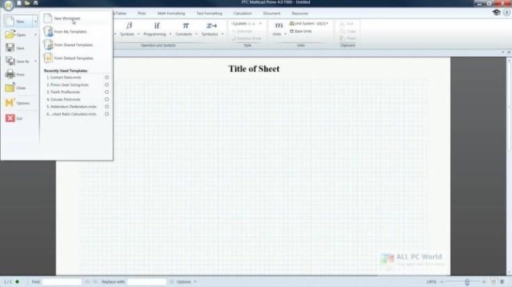 PTC-Mathcad-Prime-5.0-Free-Download