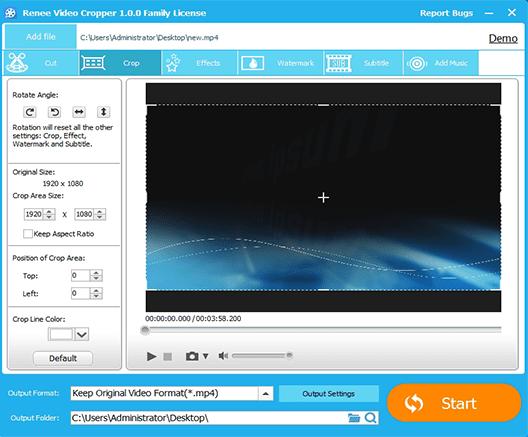 Renee-Video-Editor-Pro-Free-Download