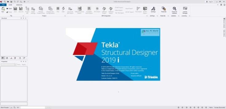 Tekla-Structural-Designer-2019i-SP3-v19.1