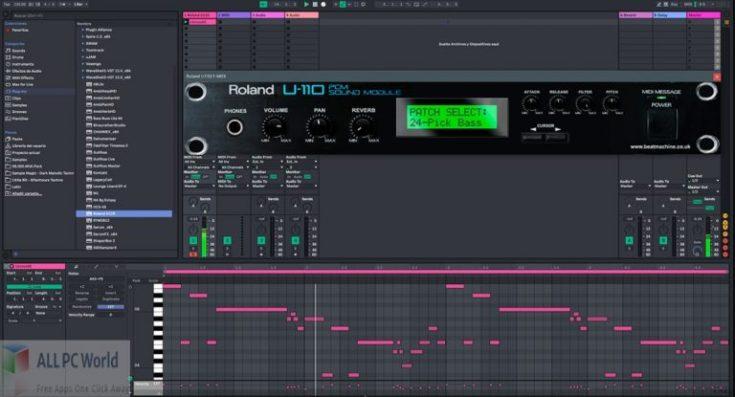 Beat-Machine-Roland-U110-for-Free-Download