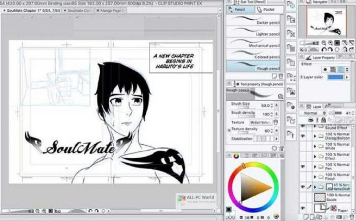 Clip-Studio-Paint-EX-with-Materials-Free-Download-for-Windows-11